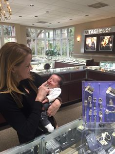 Look at this precious little gem in our store, baby Briggs!