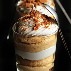 Simple Pumpkin Cheesecake Trifles —   http://punchfork.com/recipe/Simple-Pumpkin-Cheesecake-Trifles-My-Baking-Addiction#