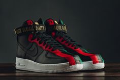 """Nike Air Force 1 Hi for """"Black History Month"""" 2018: Detailed Pictures - EUKicks.com Sneaker Magazine"""