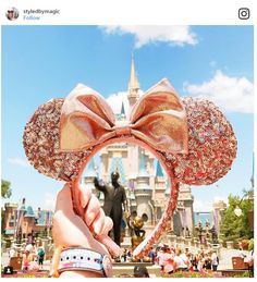 Rose Gold Minnie Mouse Ears are the New Must Have Disney Parks Accessory