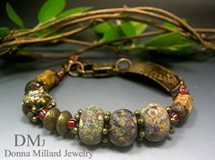 Rustic Relic Bangle, available in my etsy, click me!