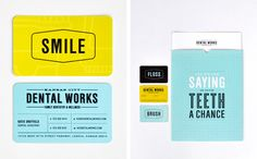 """If you love going to the dentist, say, """"Aaaahhhh…"""" Dr. Humphrey came to Design Ranch with a unique challenge: excite people about visiting the dentist. Since Dr. Humphrey is cooler than your average doc, he provided us with plenty of inspiration. We opened up with designing a versatile brand, swished it around with some clever copy and filled in with a ton of cool swag. It was all smiles from there on out."""