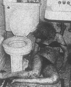 Nancy Spungen's body, found on October 12th, 1978. Sid Vicious her boyfriend, was charged and accused of second degree murder, he pleaded not guilty and was released on a £50,000 bail. 4 months after the death of Nancy, Vicious committed suicide by taking an overdose of heroin. The case was closed after Sid's death, and to this day nobody really knows what went on in that hotel bathroom with Nancy and Sid.