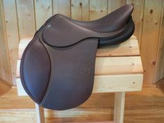 Best saddle hans down if you have $2,000 to spend! - PJ Premiere! Grippy seat and knee rolls! Great balance!
