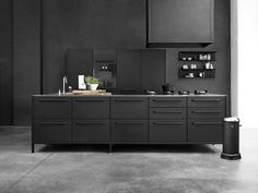 Vipp Kitchen | Concept, black powder coated cabinets
