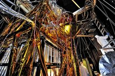 The Webb Telescope's 'Golden Spider' See more at http://www.creepyclips.com/index.php/2016/12/09/the-webb-telescopes-golden-spider-2/