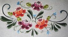 Pintura Em Tecido - Venha Aprender Pintura em Tecido: Bauernmalerei no Tecido II