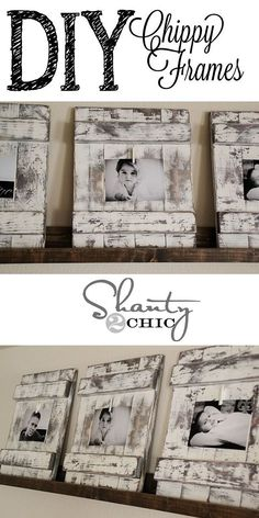 Rustic Home Decor | DIY Picture Frames