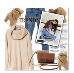 """""""Everyday Look"""" by genuine-people ❤ liked on Polyvore featuring мода, Sole Society, rag & bone, women's clothing, women, female, woman, misses, juniors и brown"""