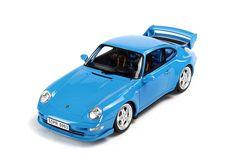 GT Spirit: Porsche 911 (993) Carrera RS Clubsport - Blue (GT005CS) in 1:18 scale