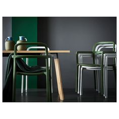 IKEA YPPERLIG table Solid wood, veneer and steel are durable materials that are easy to keep clean. Balcony Table And Chairs, Farmhouse Table Chairs, Cafe Chairs, Garden Chairs, Room Chairs, Outdoor Chairs, Dining Chairs, Adirondack Chairs, Ypperlig Ikea