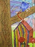 Artsonia Art Exhibit :: Birdhouse Collage