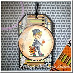 Trick or Treat from Crafty Sentiments Designs