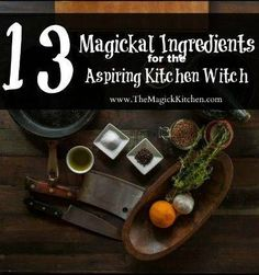 19 best Kitchen Witch Recipes images on Pinterest in 2018 | Witch ...
