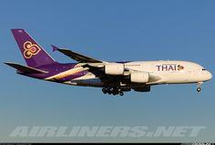 Thai Airways International HS-TUA Airbus A380-841 aircraft picture