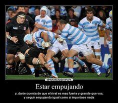 Resultado de imagen de imagenes de rugby con frases Baseball Cards, Frases, Sports, Buenos Aires Argentina, Projects