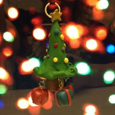 Christmas Tree Ornament by PunkInPink on Etsy