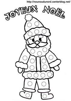 Coloriage a gommettes le Père Noël ..jpg - Fichiers partagés - Acrobat.com