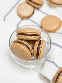 You might have noticed that there are quite a few coffee flavored recipes on Mom's Dish, such as Espresso Jello Shots Recipe, Chocolate Mocha Cookies Recipe and Chocolate Coffee Mousse Dessert. But, it's never too many coffee recipes, at least not for someone residing in Seattle! I've been trying to find a good coffee macaron recipe, and with a lack of finding one, I went on a journey to create one. After some testing, this recipe was born, and it's a good one.