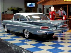 1959 Chevrolet Bel/Air Maintenance/restoration of old/vintage vehicles: the material for new cogs/casters/gears/pads could be cast polyamide which I (Cast polyamide) can produce. My contact: tatjana.alic@windowslive.com