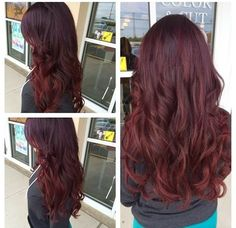 Popular Violet Red Hair Color Ideas 2014   Hair  Haircuts  Color