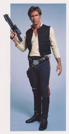 Han Solo http://www.originalprop.com/blog/wp-content/uploads/2008/12/han-solo-star-wars-chronicles-promo-stormtrooper-blaster.jpg