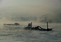 Der Rhein dampft von Gerhard Bonse