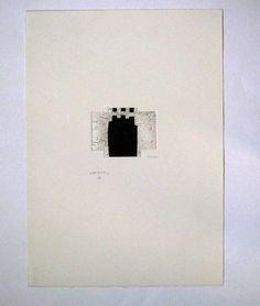 Acquaforte - Eduardo Chillida - Irudin