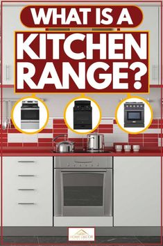 What Is A Kitchen Range? [Inc. 5 Examples]. Article by HomeDecorBliss.com #HomeDecorBliss #HDB #home #decor