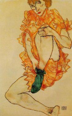 Egon Schiele, Le Bas Green, 1914.