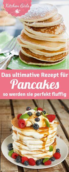 Recipe for pancake cake - Oster-Brunch-Rezepte - Healty Dessert Vegan Pancakes, Breakfast Pancakes, Low Carb Breakfast, Vegan Breakfast Recipes, Benefits Of Potatoes, Pancake Cake, Valeur Nutritive, Cooking Dishes, Calories