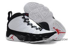 c0cff99a6b5b8b Air Jordan 9 Retro White Black-True Red New Release