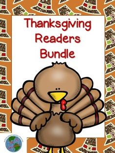 Here is a set of 3 different books all on the Thanksgiving theme. Each book includes a full page color copy and a half page blackline copy.  Book 1 is all about what you can eat on Thanksgiving. The second book is about common activities families do on Thanksgiving. The last book is about the first Thanksgiving.