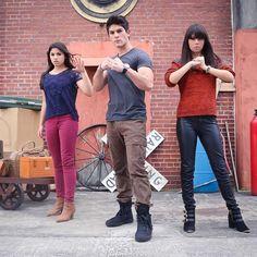 Emma, Jax and Mia