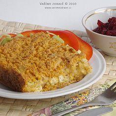 slany-jahelnik-s-kysanym-zelim Tempeh, Tofu, Polenta, Quinoa, Banana Bread, French Toast, Paleo, Vegetarian, Breakfast