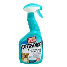 Simple Solution Extreme Stain and Odor Remover, 32-Ounce Spray Bottle Bramton Company http://smile.amazon.com/dp/B0002I9OA2/ref=cm_sw_r_pi_dp_0pTZtb04J8BKJAYM