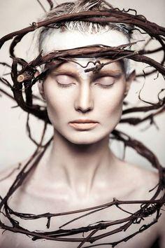 Organic Beauty Editorial | by Lindsay Adler | Amazing Headpieces | Fashion |