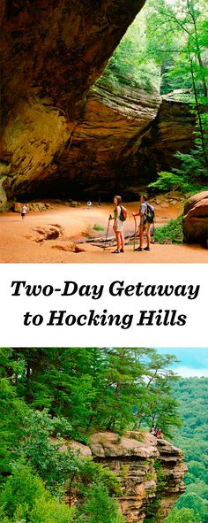 Outdoor-lovers explore Hocking Hills' caves and wooded trails 60 miles southeast of Columbus: http://www.midwestliving.com/travel/ohio/hocking-hills/two-day-getaway-to-hocking-hills/ #hockinghills #ohio