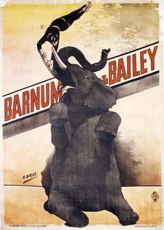 Circus, Barnum and Bailey