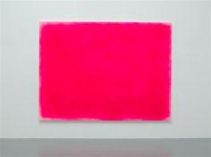 """Lee Ufan """"Landscape II,"""" 1968-2015, spray paint on canvas, 218.2 x 291 cm."""