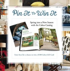 3 Lucky Winners will receive a Calico gift card!