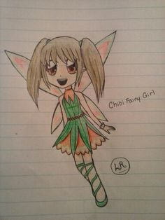Chibi Fairy Girl