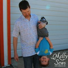 Men's Shirt pattern by Melly Sews