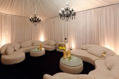 lounge areas for wedding | Flower Pulse: Panache Wedding Lounge Areas