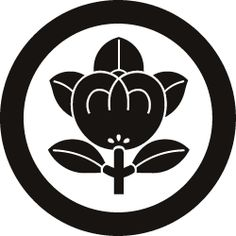 My Japanese family crest... The Tachibana Kamon.. It is represents orange blossoms..