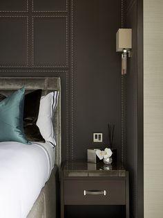 Guest Bedroom Detail, Penthouse, St John's Wood - Morpheus London