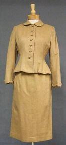 Fantastic Lilli Annette Camel Eyelash Wool Suit