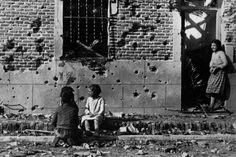 Foto de Robert Capa tomada en Madrid en noviembre de 1936. / ICP