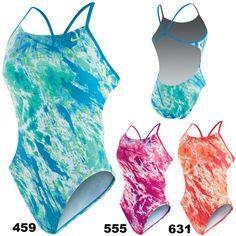 Nike Swim - Acid Wash - Women's Adjustable Sport Top 2PC NESS5017 (3 Colors)