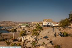 The coastal town, Lüderitz, Namibia West African Countries, Colonial, Exploring, Coastal, Road Trip, National Parks, Spaces, Landscape, Nature